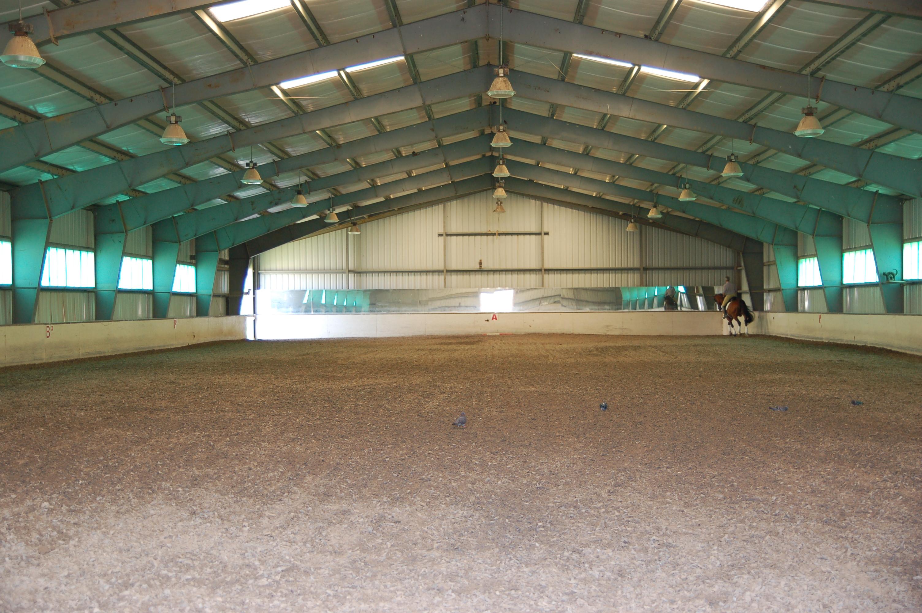 Belclare Farm indoor ring